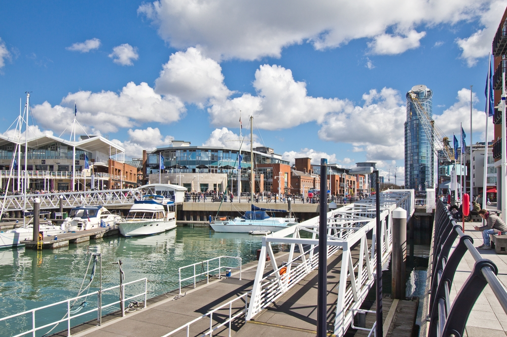 Gunwharf Quays Portmouth
