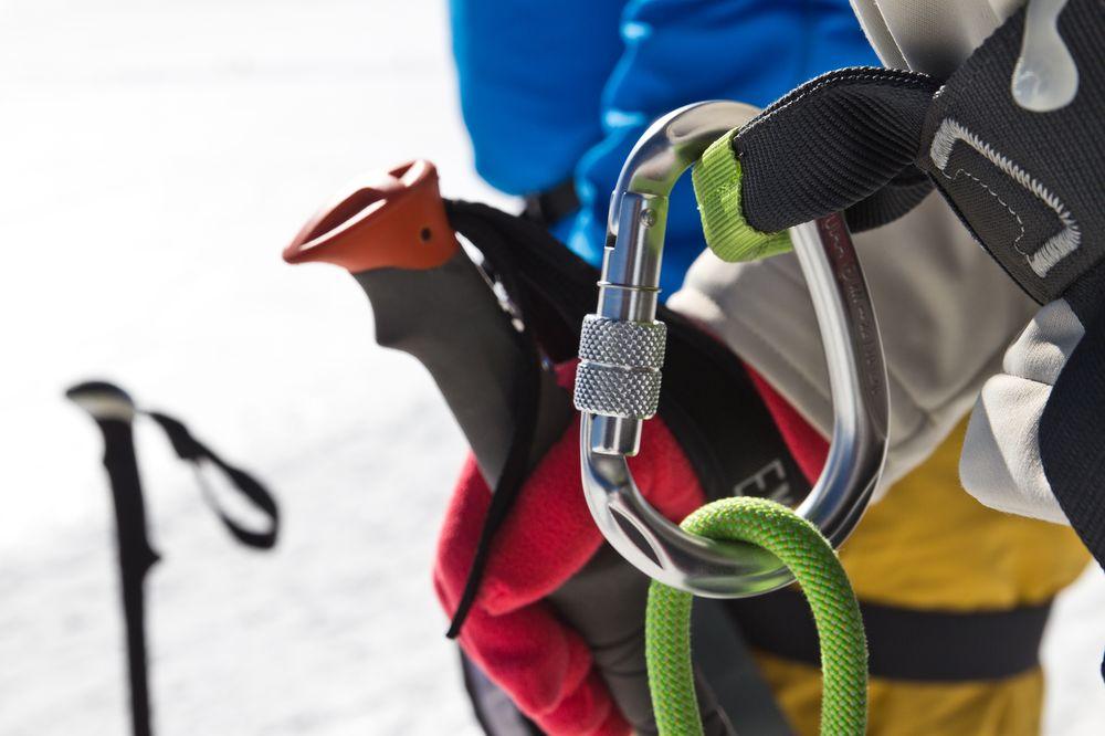 Seil Sicherung Klettern Bergsteigen