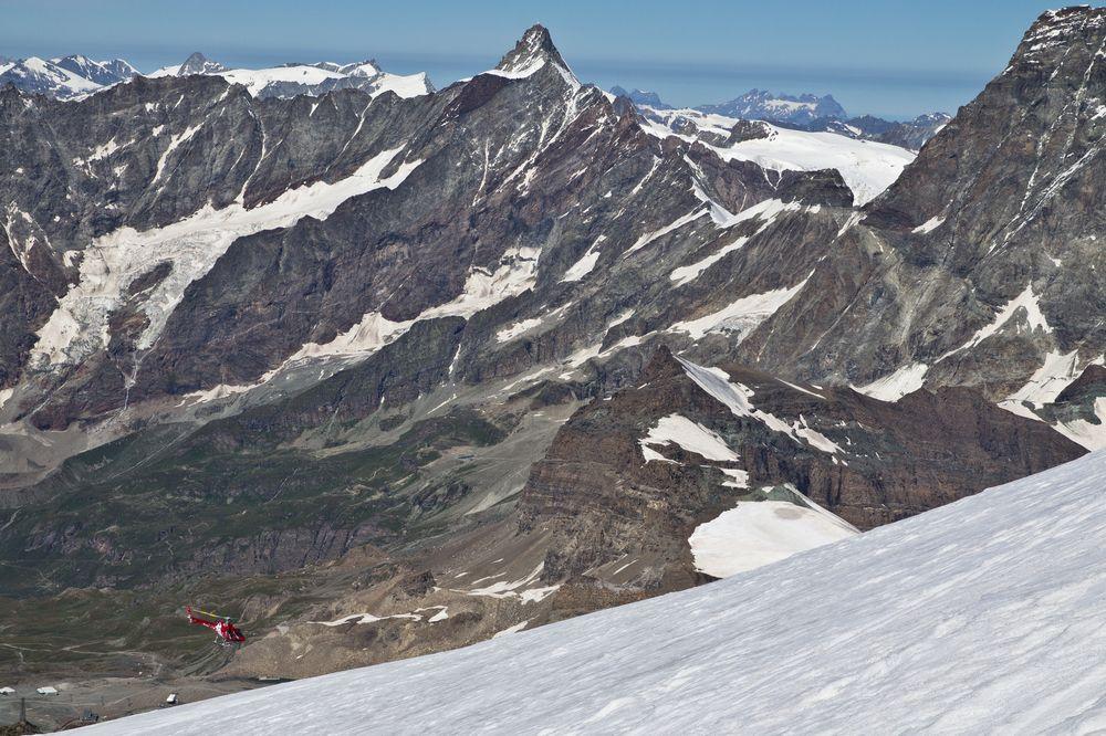 Blick vom Breithorn