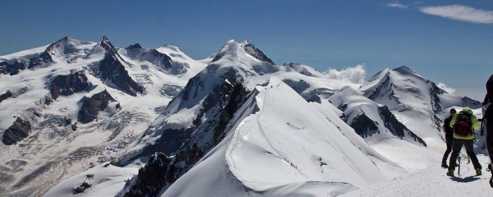 Gipfel Breithorn Mittelgipfel