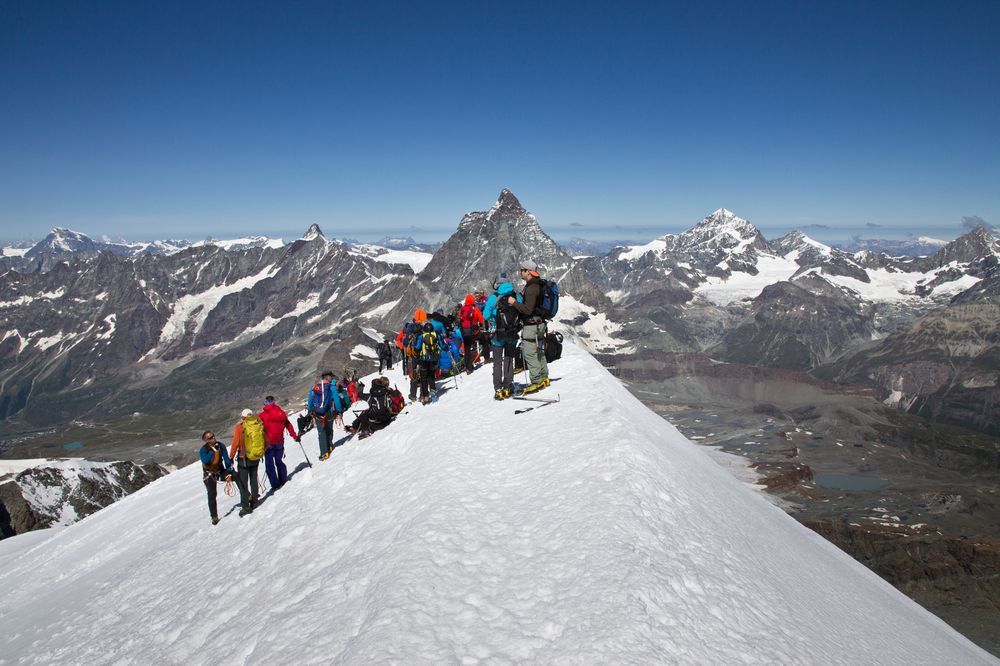 Gipfel Breithorn