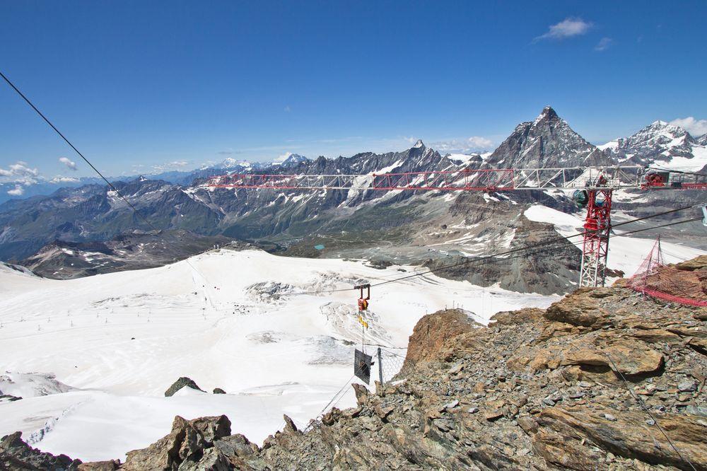 Aussichtsplattform Klein Matterhorn