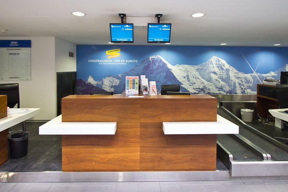 Flughafen Bern Belp Checkin