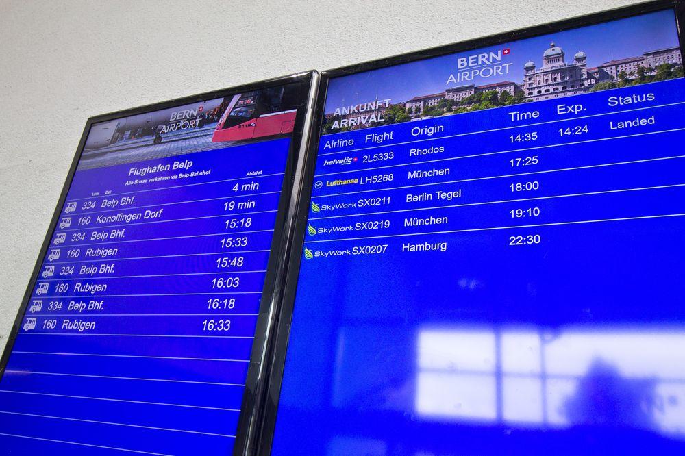 Bern Flughafen Bus Busverbindung