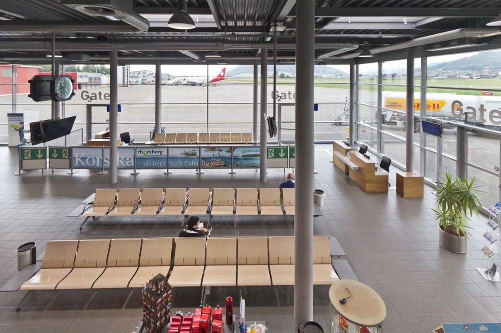 Gate Flugsteig Flughafen Bern-Belp