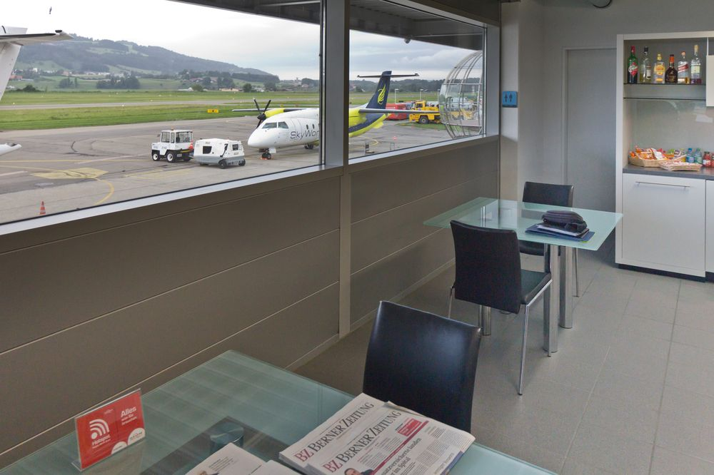 Business Class Lounge Flughafen Bern Belp