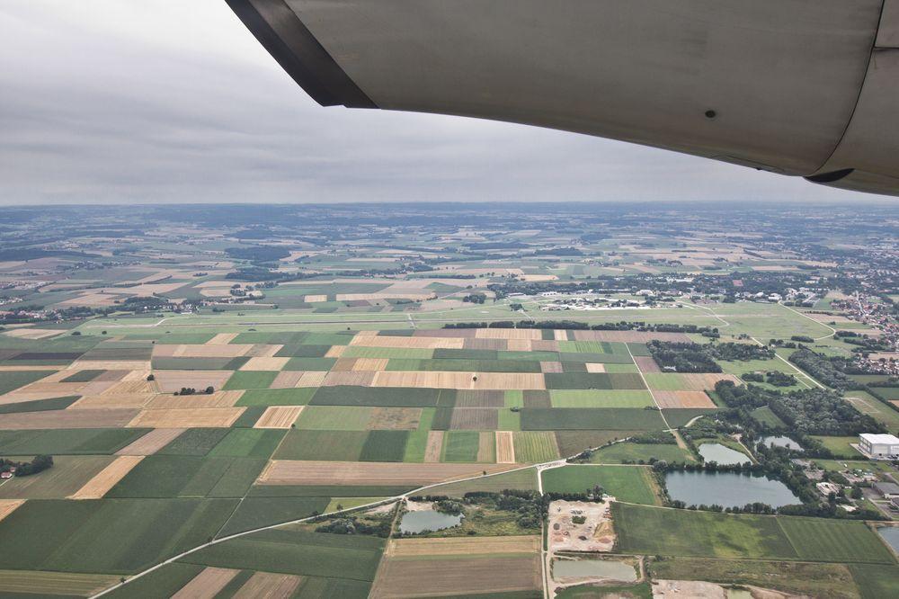 Luftbild Flughafen Erding