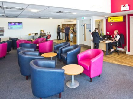 Breeze Priority Lounge Southampton Airport