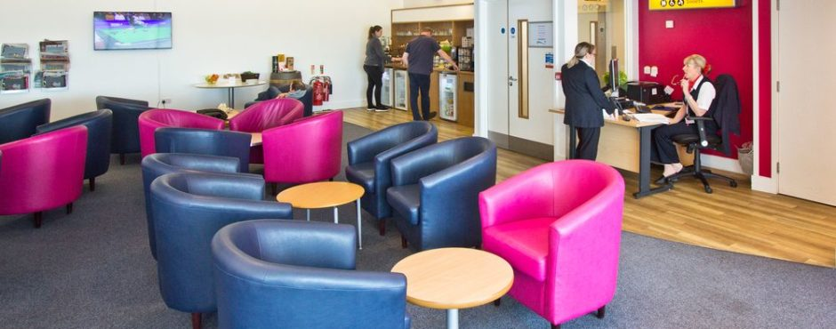 Breeze Priority Lounge Southampton Airport