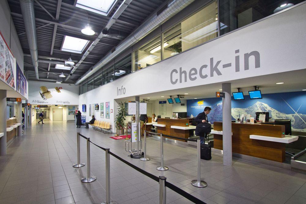 Terminal Bern Belp Flughafen