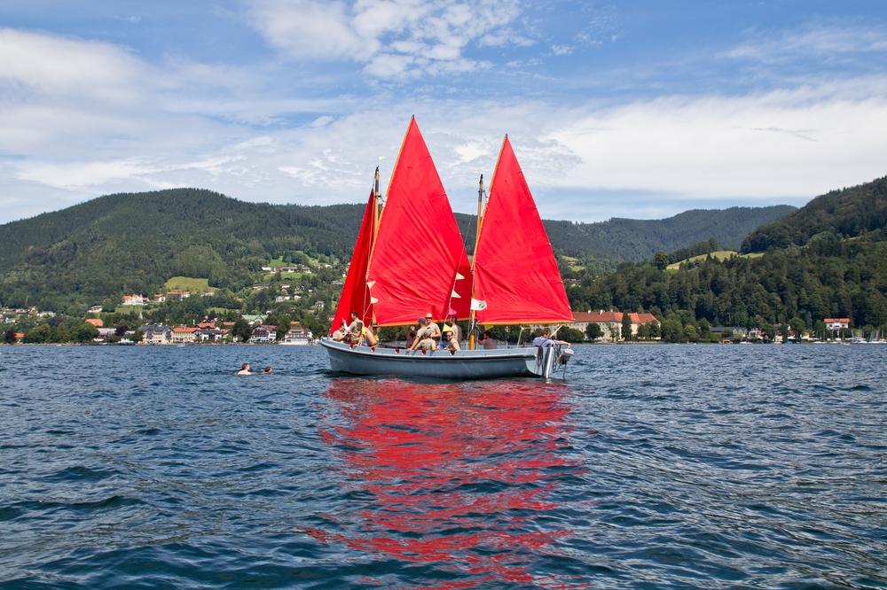 Segelschiff Tegernsee