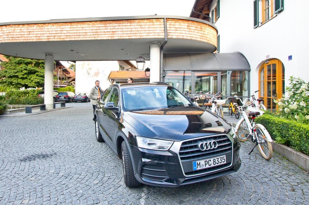 Audi Q3 Hotel Bachmair Weissach