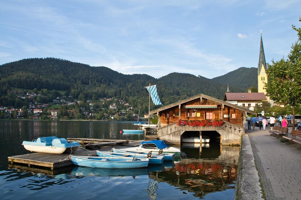 Bootsverleih Tegernsee Rottach Egern Reisebericht Sonnenuntergang
