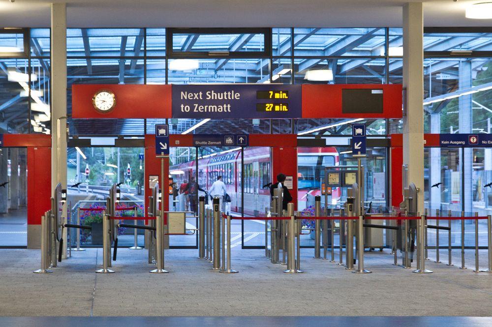 Bahnhof Täsch Wallis