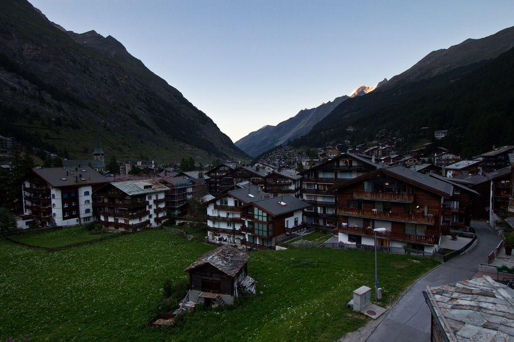 Zermatt Sonnenuntergang