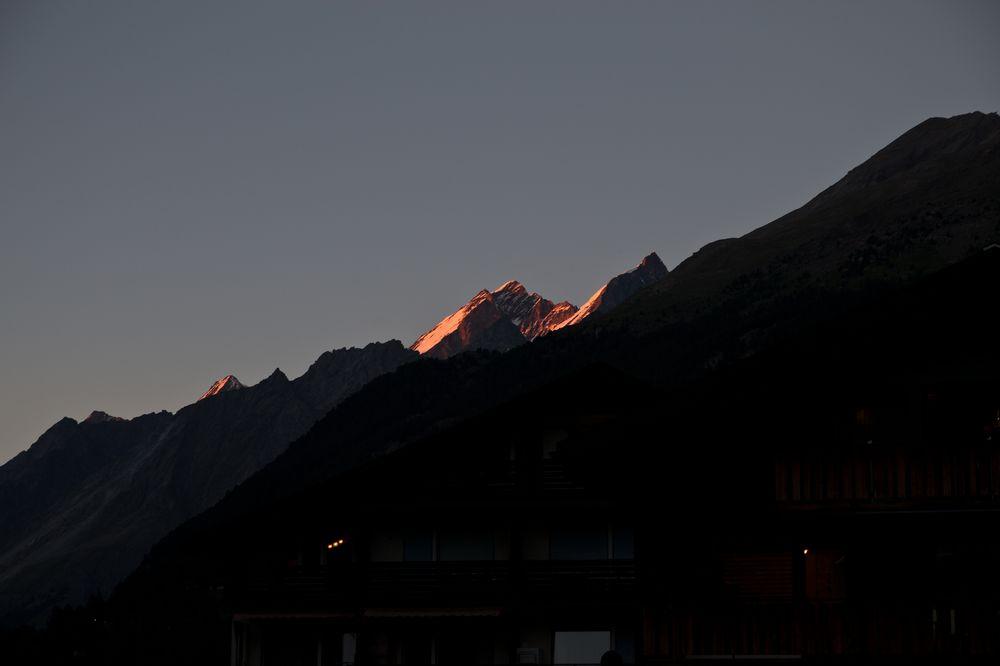 Zermatt Alpenglühen