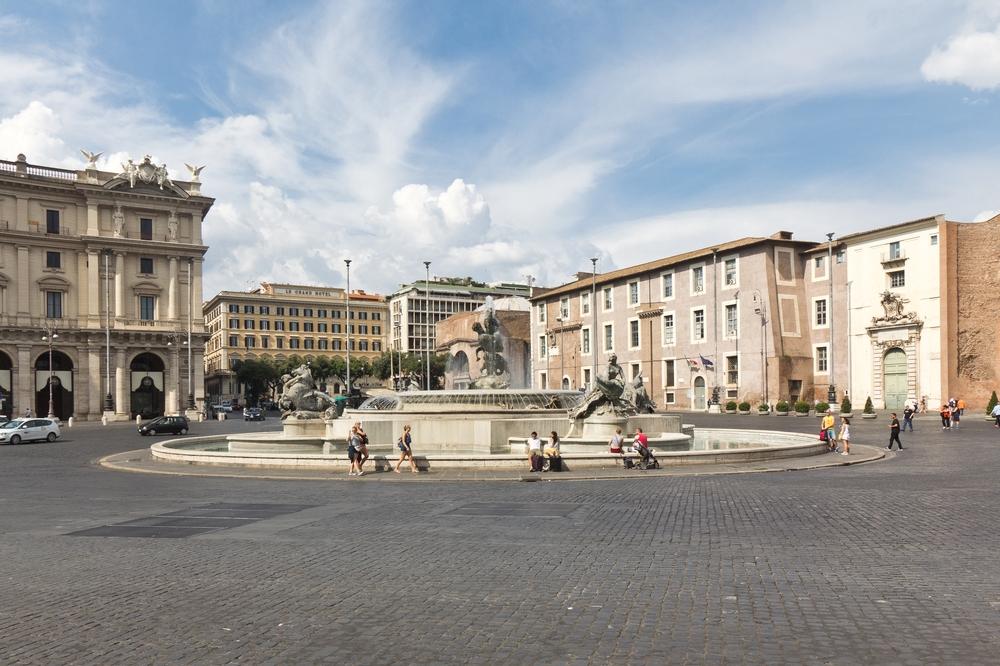 Rom Piazza della Repubblica