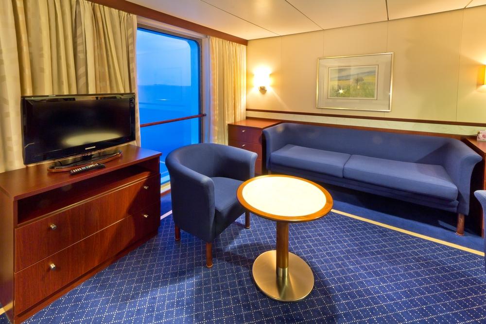 Kabine Boots Deck Atlantic Deck Suite MS Astor Kreuzfahrt