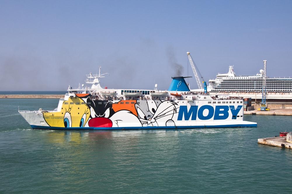 Moby Fähre Livorno