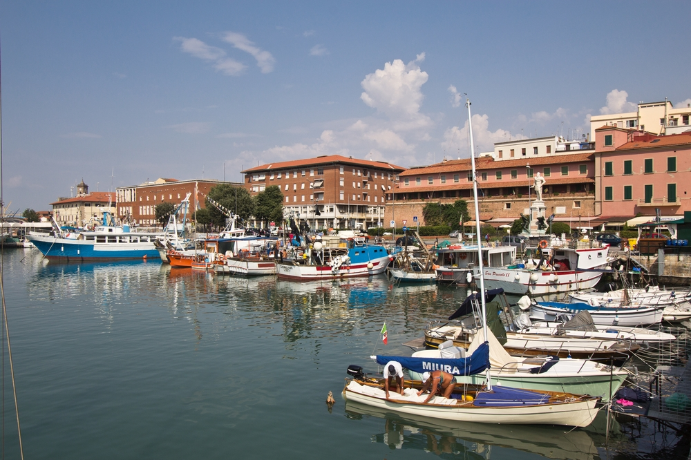 Livorno Hafen