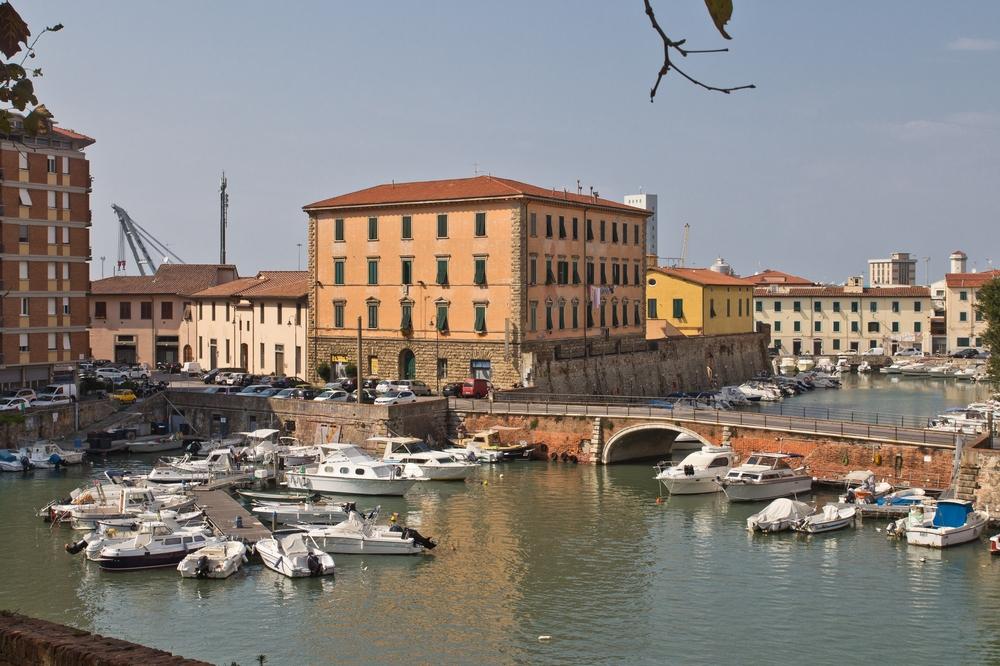 Blick auf Livorno Fortezza Nuova