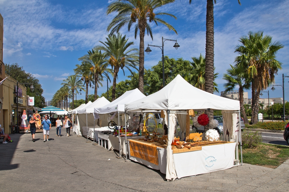 Markt Olbia Via Principe Umberto