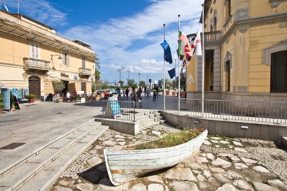 Piazza Terranova Pausania Comune di Olbia