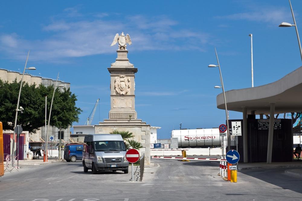 Hafen Palermo
