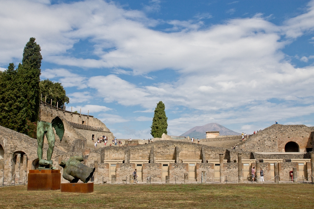 Pompeji Wiese