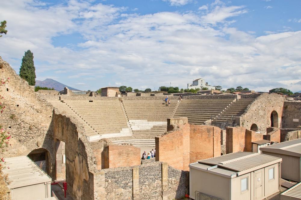 Pompeji Theater Amphitheater