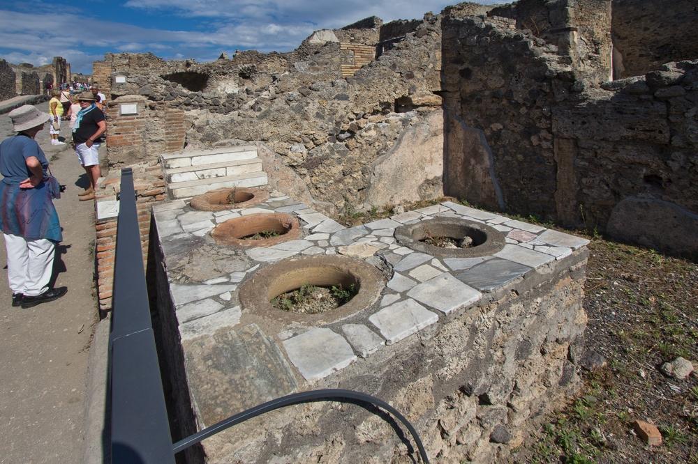 Pompeji Imbiss Garküche Küche