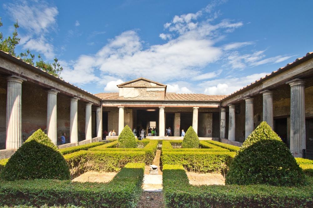 Pompeji Haus Villa Garten