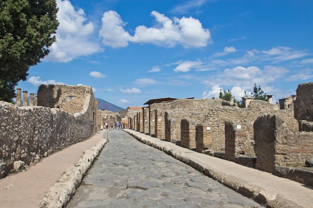 Pompeji Gasse Straße