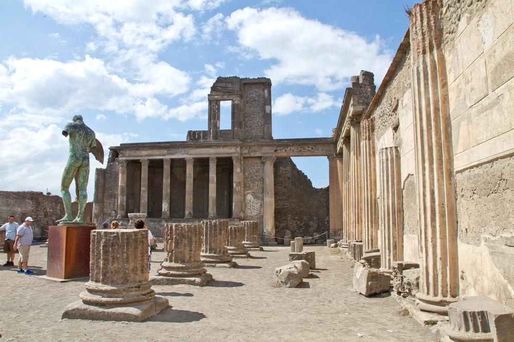 Pompeji Statue