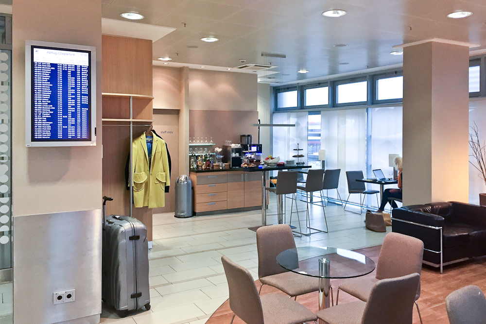 BerlinAirportClub Lounge Business Flughafen Tegel