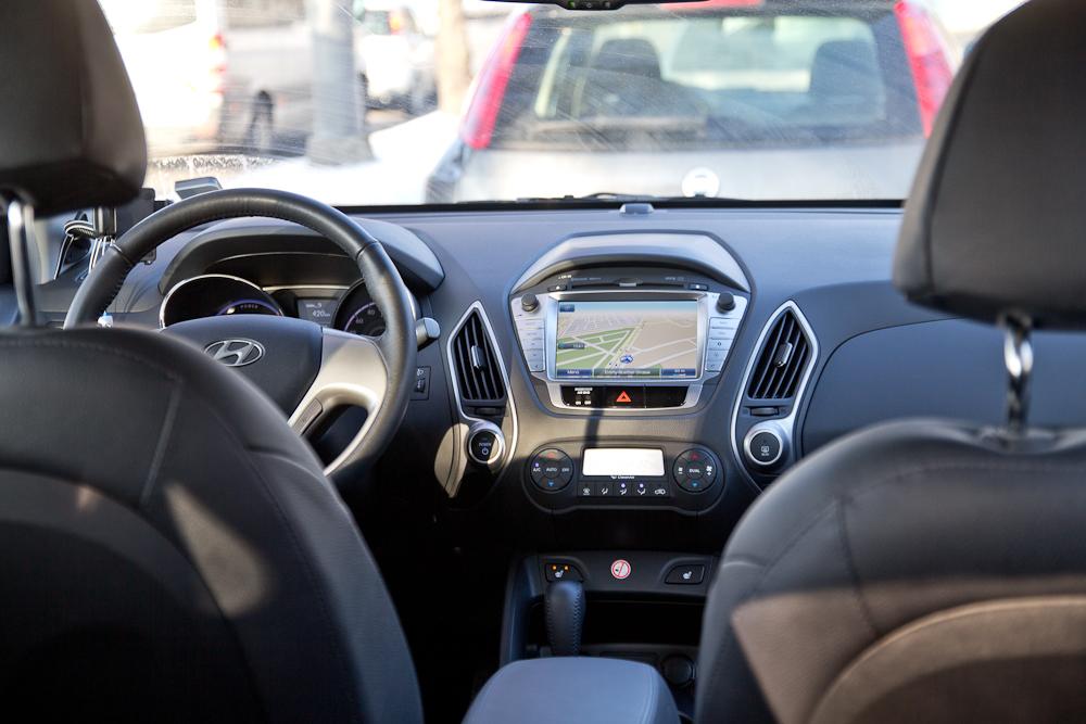 Hyundai ix35 FCEV BeeZero Carsharing