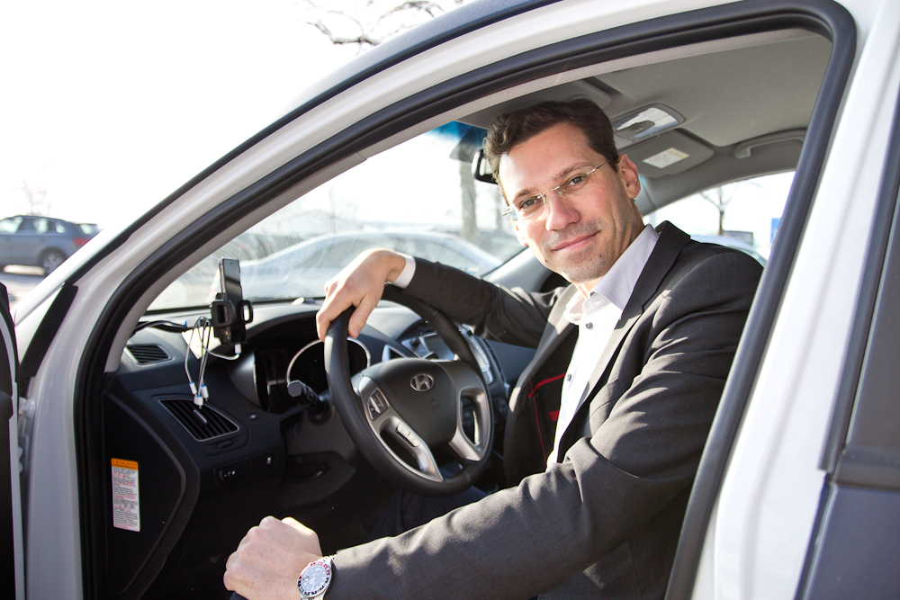 BeeZero Carsharing Wasserstoff Linde Test Erfahrungen