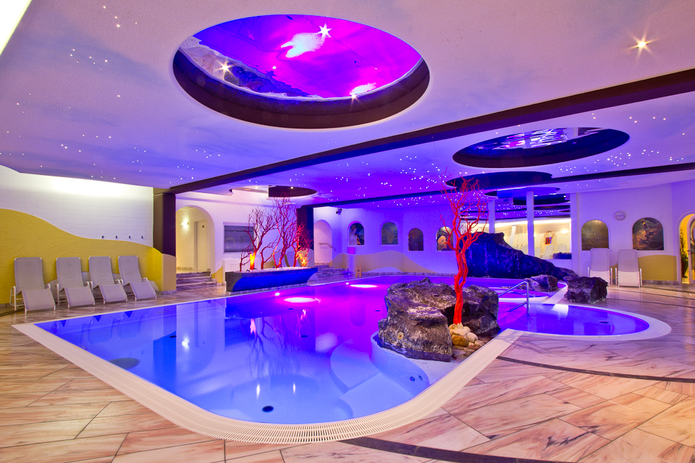 Whirlpool Massage Hotel Almesberger