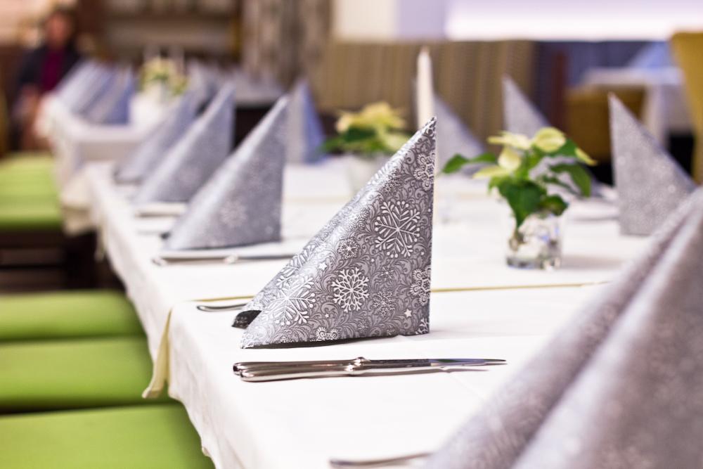 Abendessen Dinner Hotel Restaurant Almesberger