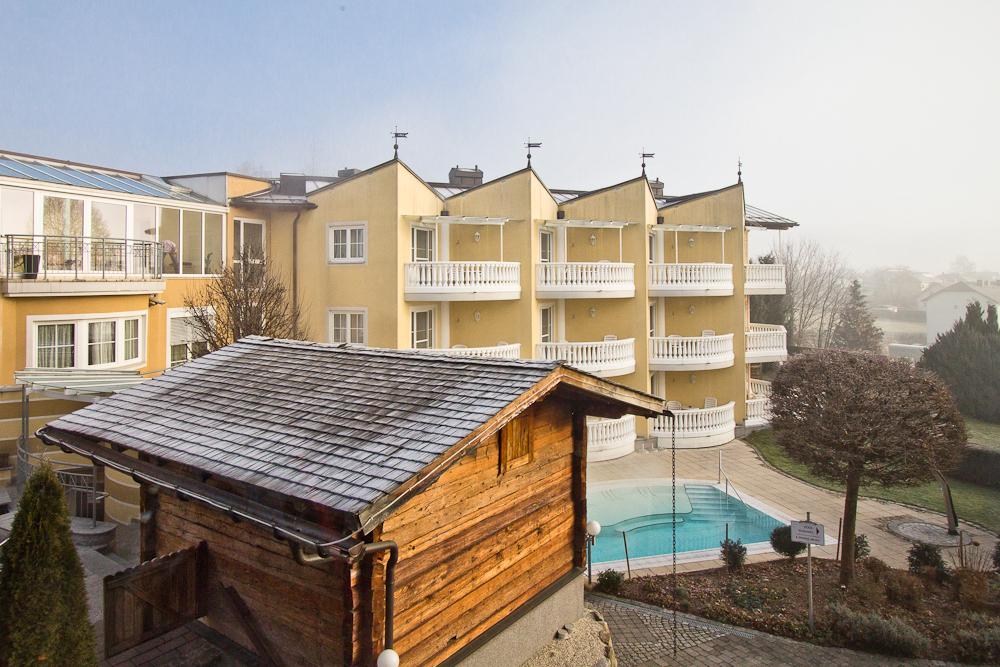Garten Hotel Almesberger Beheizter Pool