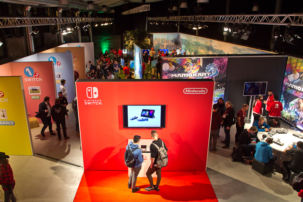 Nintendo Switch Hands-on Deutschland Event