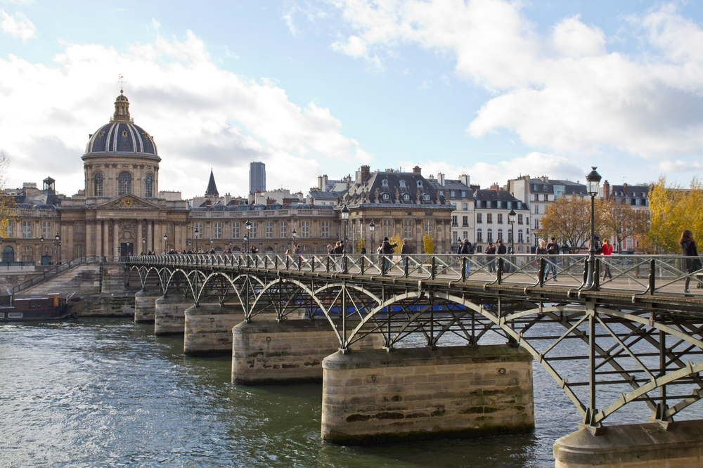Paris Pont des Arts Seine