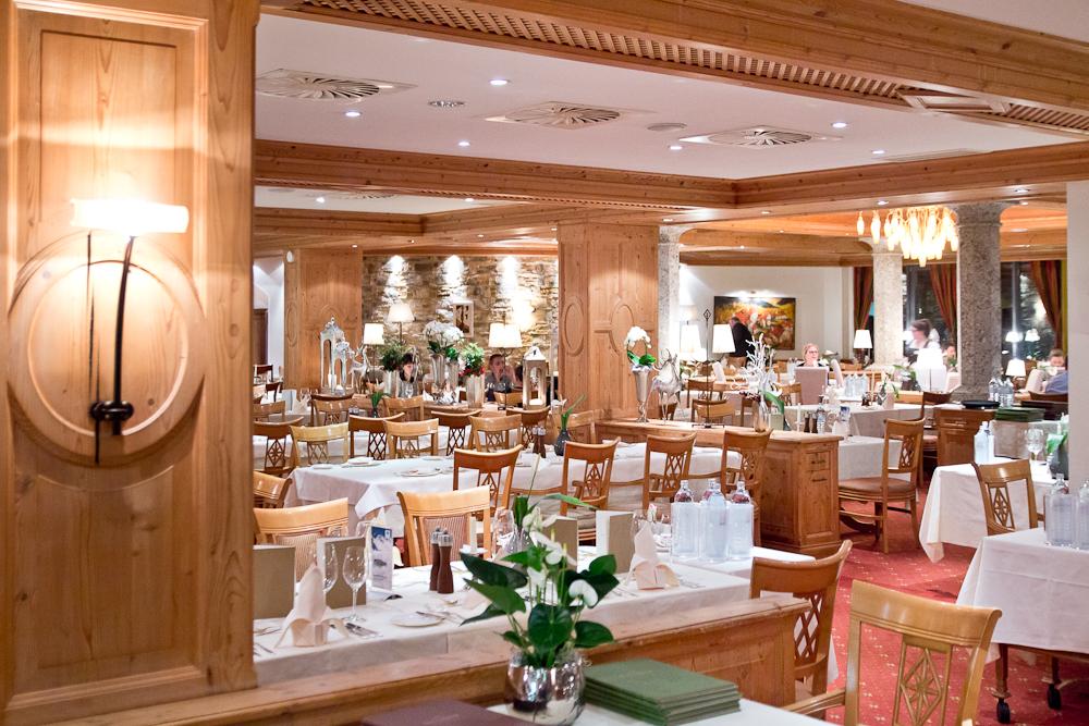 Hotel Sölden Restaurant Luxus Fünf Sterne Das Central