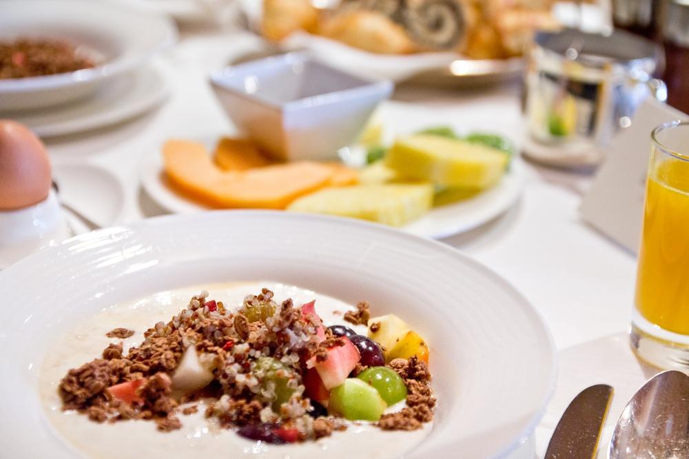 Das Central Restaurant Frühstück