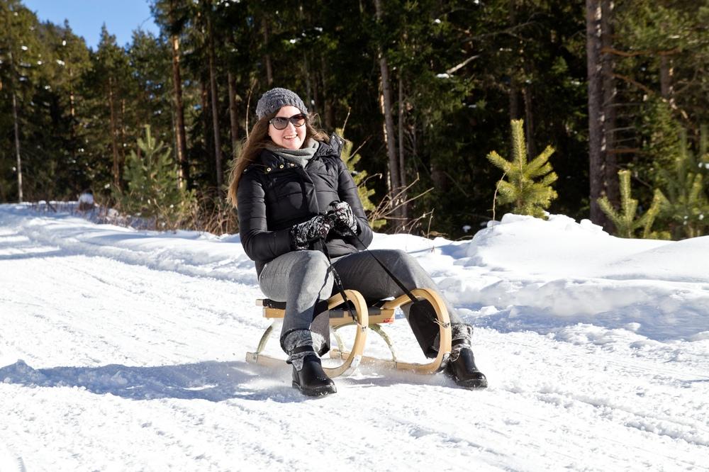 Modeblog Modebloggerin München Wandern Outdoor Schlittenfahren