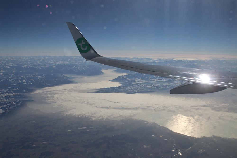 Bodensee Luftbild Flugzeug