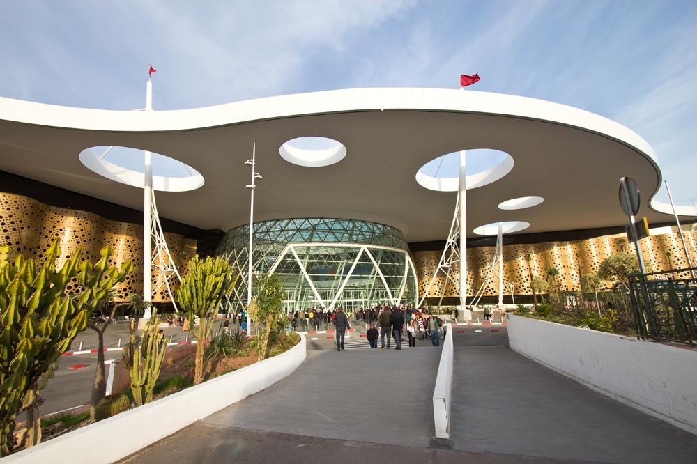 Flughafen Marrakesch RAK Terminal 2