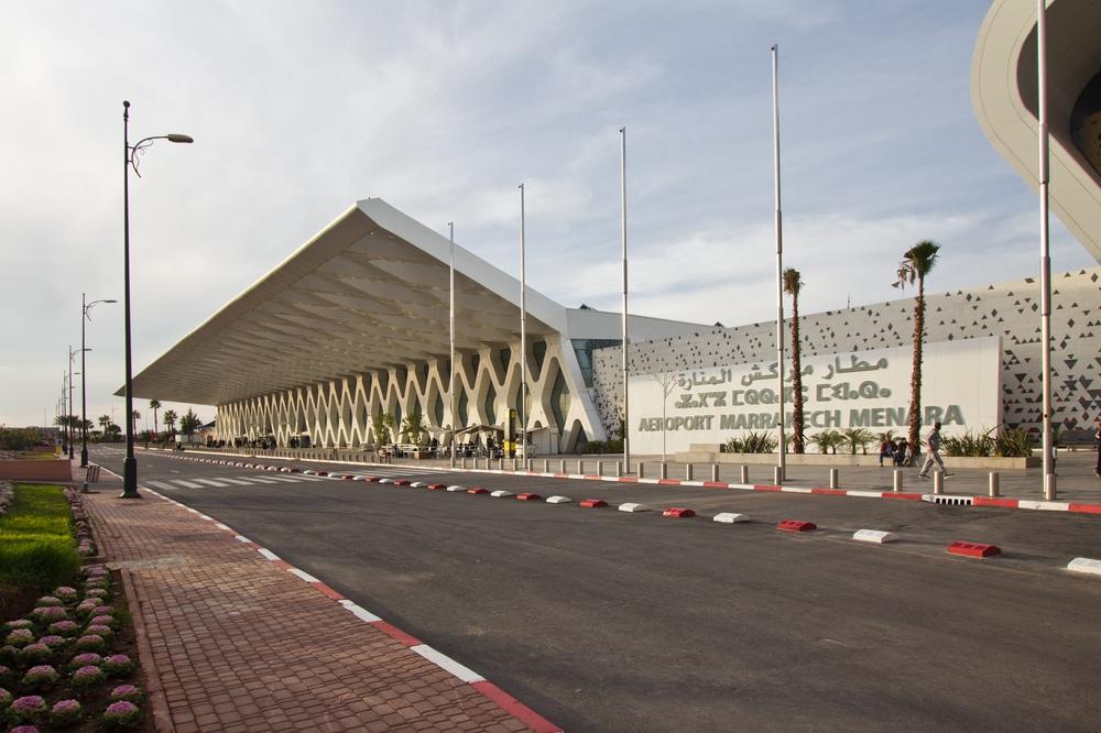 Flughafen Marrakesch RAK Terminal 1