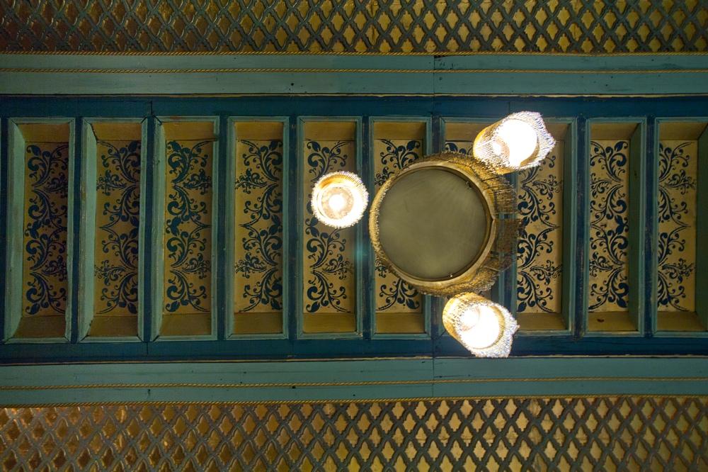 Riad Armelle Hotel Marrakesch Decke