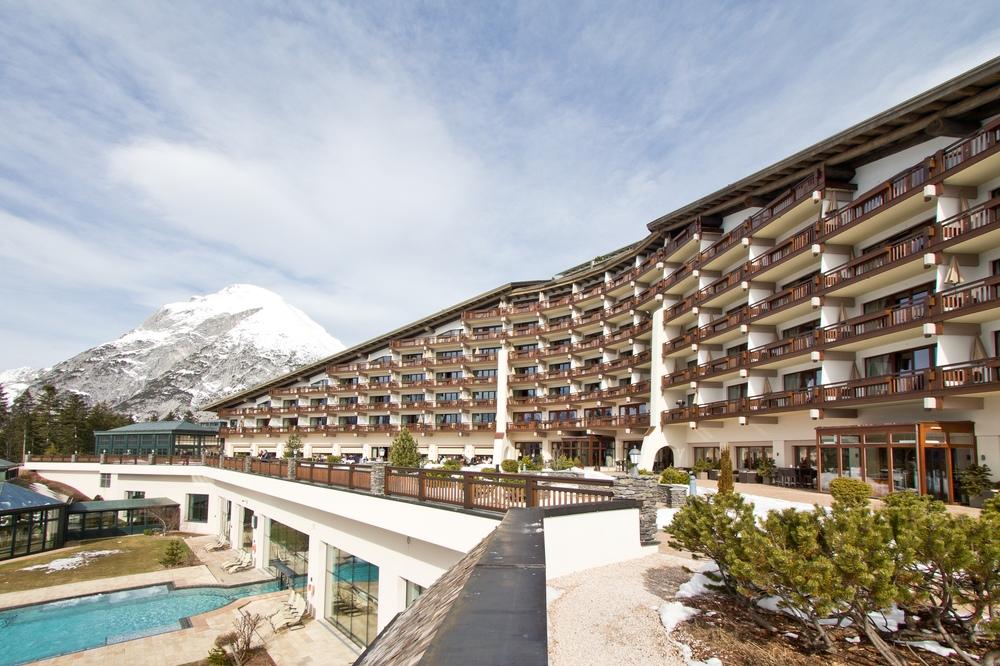 Interalpen-Hotel Tyrol  Südseite